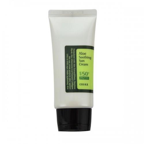 Солнцезащитный крем COSRX Aloe Soothing Sun Cream SPF50 PA+++ с соком алоэ вера, 50 мл