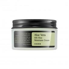 Легкий увлажняющий гелевый крем COSRX Aloe Vera Oil Free Moisture Cream с экстрактом алоэ, 100 мл