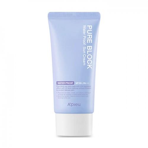 Водостойкий солнцезащитный крем A'Pieu Pure Block Water Proof Natural Sun Cream SPF50 PA+++, 50 мл