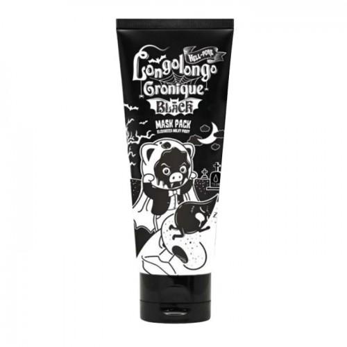 Черная маска-пленка Elizavecca Hell Pore Longolongo Gronique Black Mask Pack, 100 мл