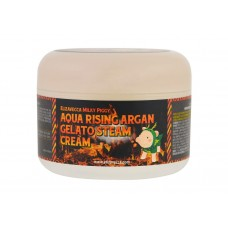 Паровой увлажняющий крем Elizavecca Milky Piggy Aqua Rising Argan Gelato Steam Cream с маслом арганы, 100 мл