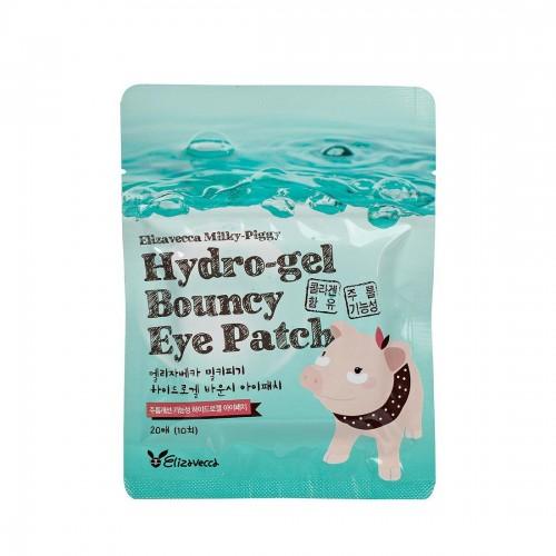 Набор гидрогелевых патчей для кожи вокруг глаз Elizavecca Milky Piggy Hydro Gel Bouncy Eye Patch, 20 шт.