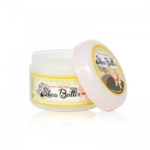 Многофункциональное 100% масло ши для лица и тела Elizavecca Milky Piggy Shea Butter 100%, 80 мл