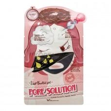 Трехступенчатая маска для проблемной кожи Elizavecca Pore Solution Super Elastic Mask Pack, 25 мл