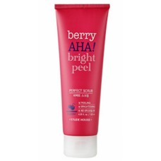 Скраб Etude House Berry AHA Bright Peel Perfect Scrub с АНА-кислотами, 120 мл