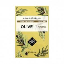 Маска тканевая Etude House Therapy Air Mask Olive с маслом оливы, 20 мл