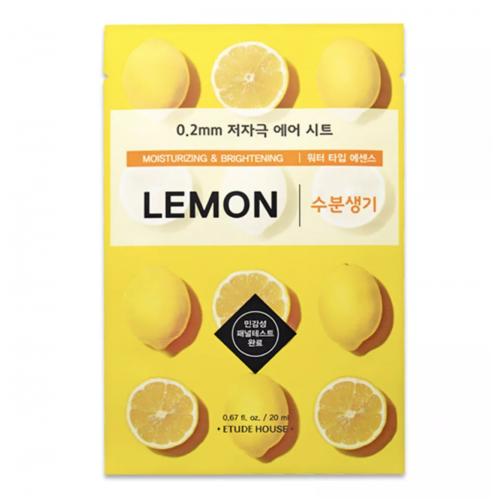 Маска тканевая Etude House Therapy Air Mask Lemon с экстрактом лимона, 20 мл