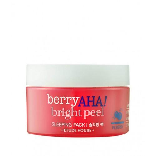 Ночная маска Etude House Berry AHA Bright Peel Sleeping Pack с АНА-кислотами, 100 мл