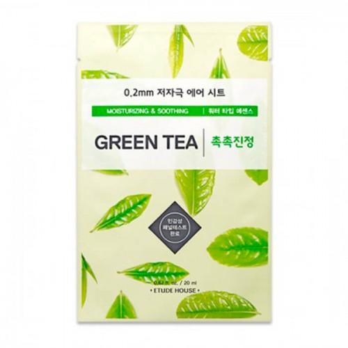 Маска тканевая Etude House Therapy Air Mask Green Tea с экстрактом зеленого чая, 20 мл