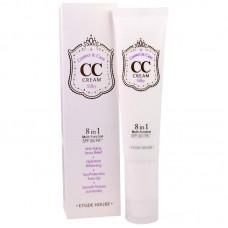 Корректирующий СС-крем для шелковистости кожи Etude House CC Cream Correct&Care Silky #1 Silky, 35 мл