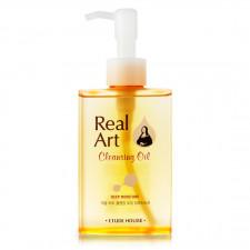 Гидрофильное масло для лица Etude House Real Art Moisture Cleansing Oil, 185 мл