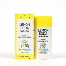 Очищающий стик Etude House Lemon Soda Blackhead Out Stick, 13 мл