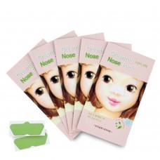 Очищающие полоски Etude House Gree Tea Nose Pack с экстрактом зеленого чая для носа, 1 шт.