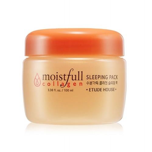 Увлажняющая ночная маска Etude House Moistfull Collagen Sleeping Pack, 100 мл