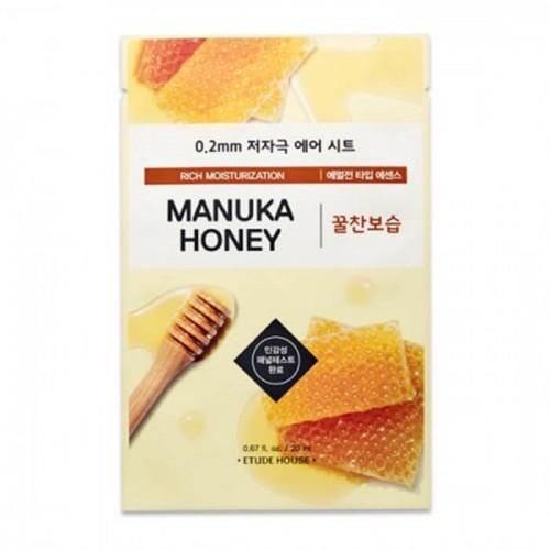 Маска тканевая Etude House Therapy Air Mask Manuka Honey с экстрактом мёда, 20 мл