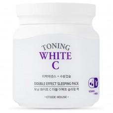 Увлажняющая осветляющая ночная маска для лица Etude House Toning White C Double Effect Sleeping Pack, 100 мл