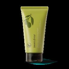 Пенка для умывания Innisfree Olive Real Cleansing Foam с органическим маслом оливы, 150 мл
