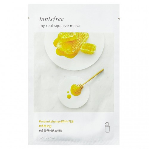 Маска для лица с экстрактом мёда