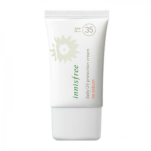 Матирующий санблок Innisfree Daily UV Protection Cream No Sebum SPF35/PA+++, 50 мл