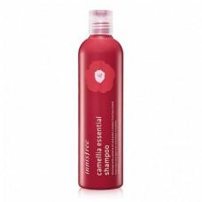 Безсиликоновый шампунь Innisfree Camellia Essential Shampoo с маслом камелии, 300 мл