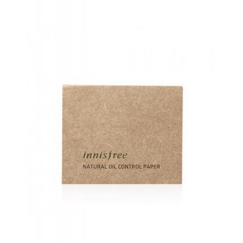 Матирующие салфетки Innisfree Natural Oil Control Paper, 50 шт.