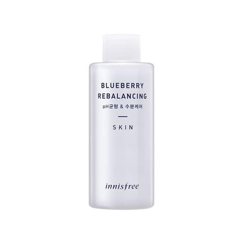 Балансирующий, выравнивающий водно-жировой баланс тонер Innisfree Blueberry Rebalancing Skin, 150 мл