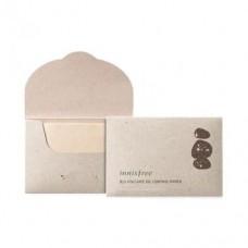 Матирующие салфетки Innisfree Jeju Volcanic Oil Control Paper с вулканическим пеплом, 50 шт.