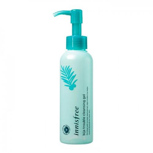Гель для умывания чувствительной и проблемной кожи Innisfree Bija Trouble Cleansing Gel, 150 мл