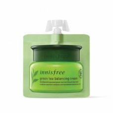 Интенсивный увлажняющий крем Innisfree The Green Tea Seed Cream на основе семян зеленого чая, 5 мл