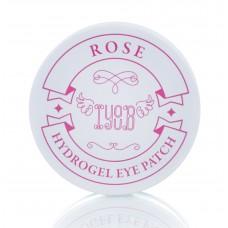 Гидрогелевые патчи IYOUB Hydrogel Eye Patch Rose с экстрактом розы, 60 шт.