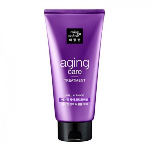 Антивозрастная маска для волос Mise En Scene Aging Care Treatment Pack с голубикой, 330 мл