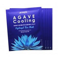 Охлаждающая гидрогелевая маска Petitfee Agave Cooling Hydrogel Face Mask с экстрактом агавы, 32 мл