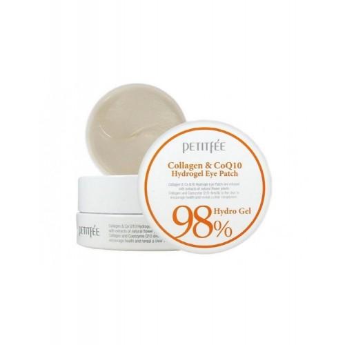 Гидрогелевые патчи Petitfee Collagen & Co Hydrogel Essence Eye & Spot Patch с коллагеном, 60 шт.