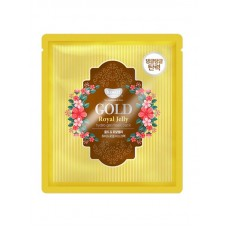 Гидрогелевая маска для лица Petitfee Koelf Gold & Royal Jelly Mask Pack с экстрактом мёда, 30 мл
