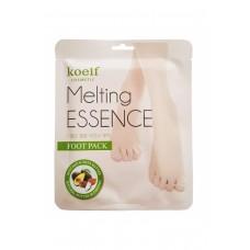 Маска-носочки для ног Petitfee Koelf Melting Essence Foot Pack с маслом ши и авокадо, 1 пара