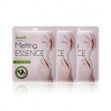 Маска-перчатки для рук Petitfee Koelf Melting Essence Hand Pack c маслом ши и авокадо, 1 пара