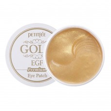 Гидрогелевые патчи для глаз Petitfee Premium Gold & EGF Eye Patch с антивозрастным эффектом, 60 шт.