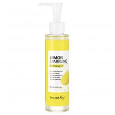 Гидрофильное масло Secret Key Lemon Sparkling Cleansing Oil с экстрактом лимона, 150 мл