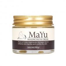 Крем для лица Secret Key MAYU Healing Facial Cream с лошадиным жиром, 50 мл