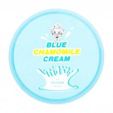 Успокаивающий гель крем Village 11 Factory Blue Chamomile Cream с экстрактом голубой ромашки,  300 мл