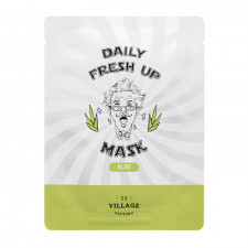 Тканевая маска Village 11 Factory Daily Fresh up Mask Aloe с экстрактом алоэ, 20 мл