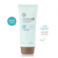 Матирующий солнцезащитный крем Natural Sun Eco No Shine Hydrating Sun Cream SPF50/PA+++, 100 мл