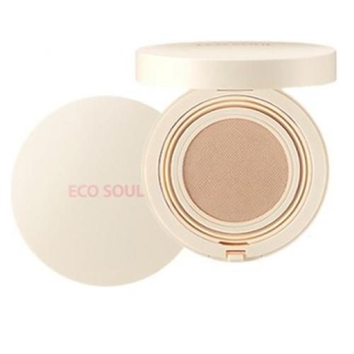Тональная основа The Saem Eco Soul Bounce Cream Foundation Matte 02 promo, 15 гр.