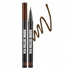 БР Ручка-татту для бровей Brow Tattoo Pen - Natural Brown 0,5 гр.